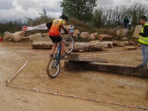 2éme manche de la coupe de trial à Cahors, dimanche 19 avril