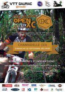 MASSI OPEN XC  Dimanche 20 septembre à Chamadelle