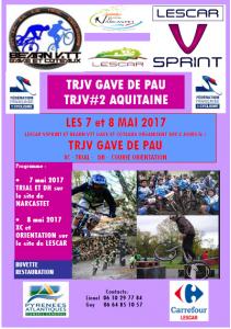 COMPTE RENDU DU TRJV GAVE DE PAU LES 7 ET 8 MAI 2017