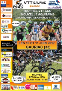 TROPHEE VTT XCO NOUVELLE AQUITAINE-CHAMPIONNAT DE GIRONDE VTT XCO-TRJV