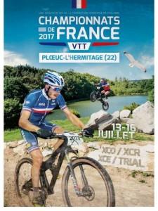 Championnat de France VTT 2017 à Ploeuc-sur-Lié…