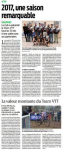 Revue de Presse: SUD-Ouest du 21/02/17