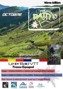 DEPLACEMENT AU RAID DES 3 VALLEES DU 12 AU 14 OCTOBRE