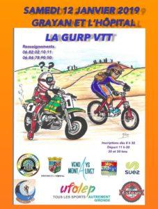 LA GURP VTT SAMEDI 12 JANVIER 2019
