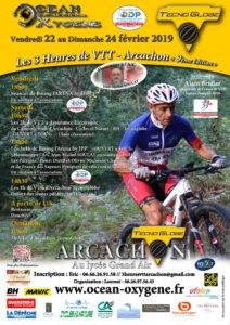 3H00 VTT D'ARCACHON 23 ET 24 FEVRIER
