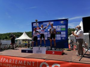 CHAMPIONNAT DE FRANCE VTT  LEVENS (06