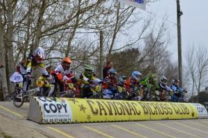 Dimanche 15 mars avait lieu à Cavignac la 2ème Manche de Coupe d'Aquitaine de BMX.