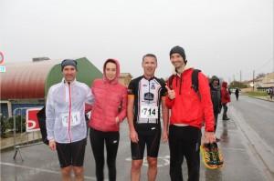 Une équipe du VTT Gauriac remporte la Détox relais à St Gervais