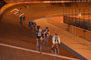 Session entraînement VTT Gauriac au vélodrome