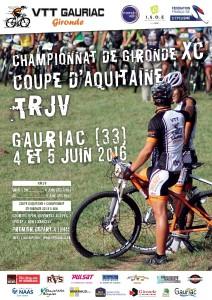 Championnat, coupe et trophée au site du Mugron à Gauriac