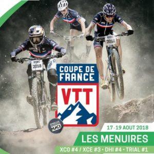 DERNIERE MANCHE DE LA COUPE DE FRANCE VTT XCO