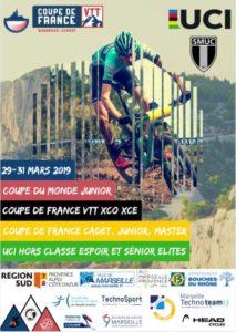 COUPE DE FRANCE VTT XCO DU 29 AU 31 MARS