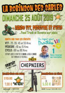 RANDO VTT LA ROBINSON DES SABLES DIMANCHE 25 AOÛT A CHEPNIERS (17)