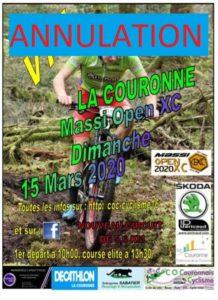 ANNULE – MASSI OPEN XC La Couronne